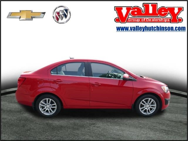 Used 2013 Chevrolet Sonic LT with VIN 1G1JC5SH6D4121909 for sale in Hutchinson, Minnesota