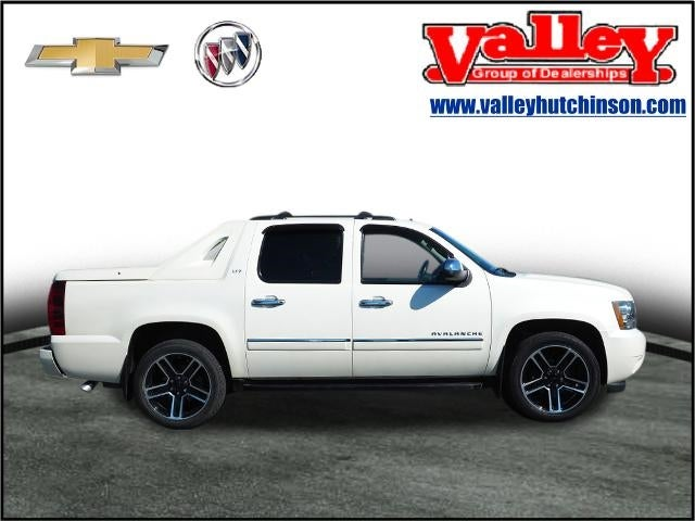 Used 2012 Chevrolet Avalanche LTZ with VIN 3GNTKGE74CG243758 for sale in Hutchinson, Minnesota